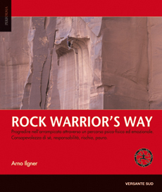 La copertina di Rock Warrior's Way